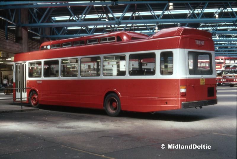 Trent Buses 436, Victoria Bus Station Nottingham, 07-1990