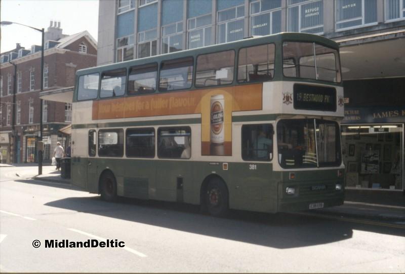 NCT 381, Trinity Square Nottingham, 07-1990
