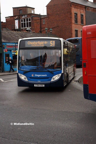 Stagecoach 37184, Cavendish St Chesterfield, 26-01-2019