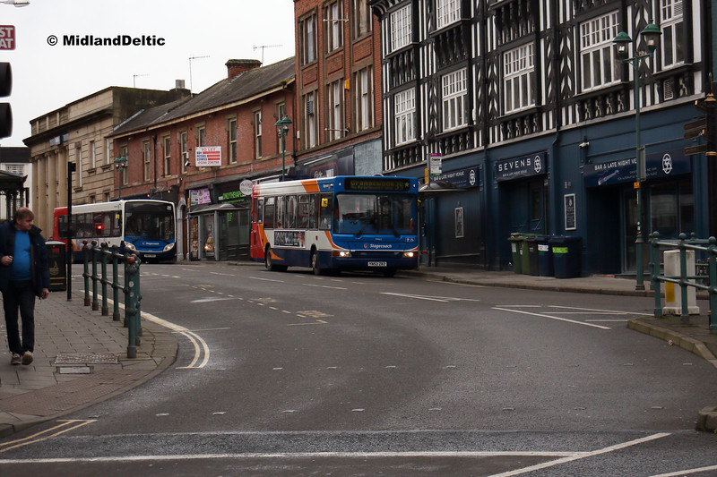 Stagecoach 34462, Cavendish St Chesterfield, 26-01-2019