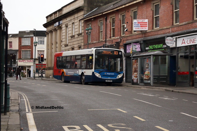 Stagecoach 22554, Cavendish St Chesterfield, 26-01-2019