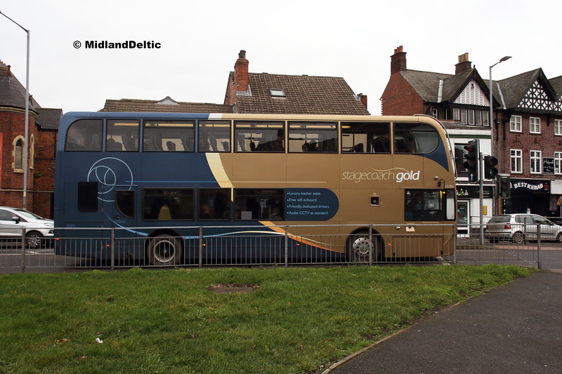 Stagecoach 15190, Holywell St Chesterfield, 26-01-2019