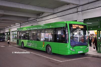 TrentBarton 303, Broad Marsh Bus Station Nottingham, 16-01-2016