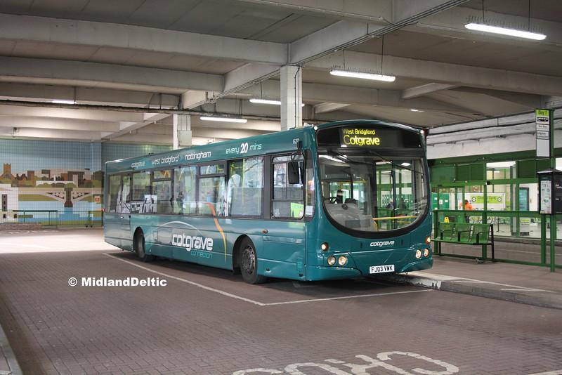 TrentBarton 620, Broad Marsh Bus Station Nottingham, 16-01-2016