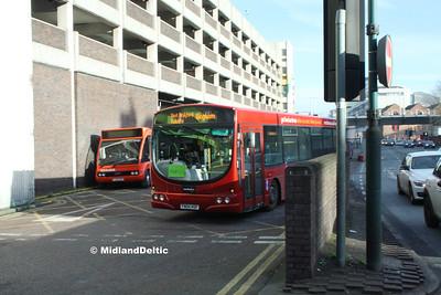 TrentBarton 656, Broad Marsh Bus Station Nottingham, 16-01-2016