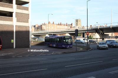 TrentBarton 712, Broad Marsh Bus Station Nottingham, 16-01-2016
