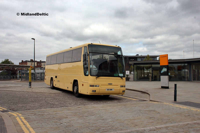Coach And Bus Leicester A15UMC, Roundhouse Rd Derby, 18-08-2018
