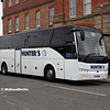 Hunter's YJ16EHW, Roundhouse Rd Derby, 18-08-2018