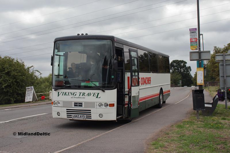 Viking Travel L647AYS, Tutbury Station, 18-08-2018