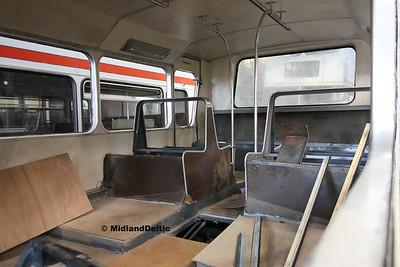 Nottingham Heritage Vehicles RTV442X, Hucknall Bus Depot, 10-01-2016