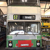 Nottingham Heritage Vehicles RTV442X, Hucknall Bus Depot, 10-01-2016