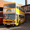 Glasgow Vintage Vehicles Trust TSO16X, Hucknall Bus Depot, 10-01-2016