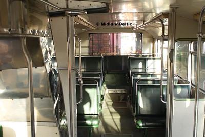 Nottingham Heritage Vehicles OTO540M, Interior, 10-01-2016