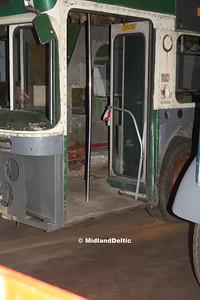Nottingham Heritage Vehicles ETO452C, Hucknall Bus Depot, 10-01-201601-2016