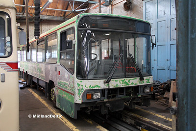 Nottingham Heritage Vehicles N769WRC, Hucknall Bus Depot, 10-01-2016