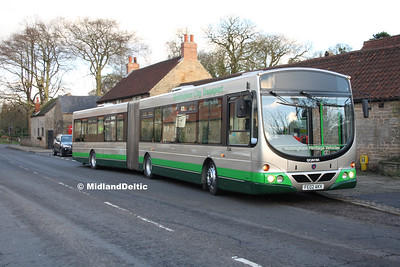 Nottingham Heritage Vehicles FE02AKV, Linby (Horse & Groom), 10-01-2016