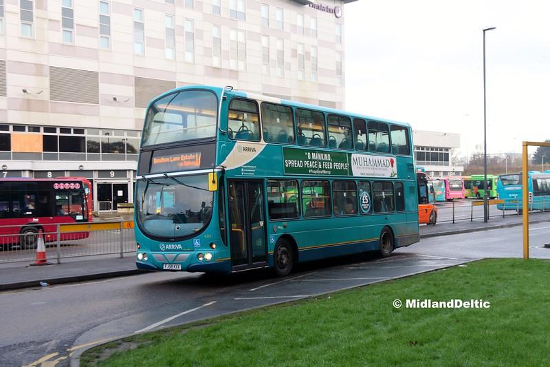 Arriva Midlands 4223, Derby Bus Station, 07-01-2017