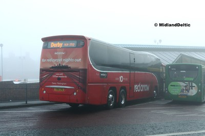 TrentBarton 88, Victoria Bus Station Nottingham, 07-01-2017