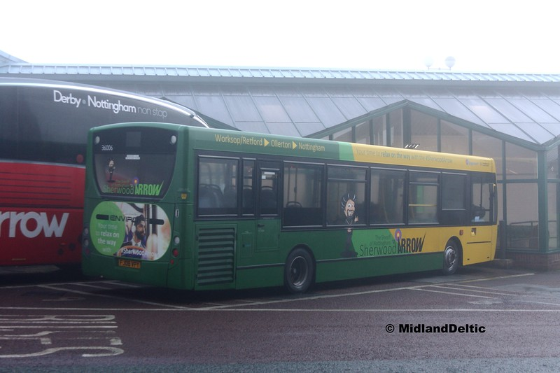 Stagecoach Bus 36006, Victoria Bus Station Nottingham, 07-01-2017