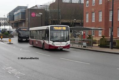 Your Bus 1405, Derwent St Derby, 07-01-2017