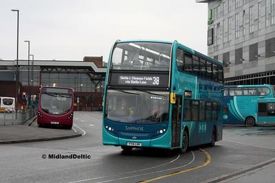 Arriva Midlands 4406, Derby Bus Station, 07-01-2017