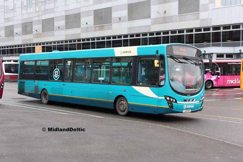 Arriva Midlands 3745, Derby Bus Station, 07-01-2017