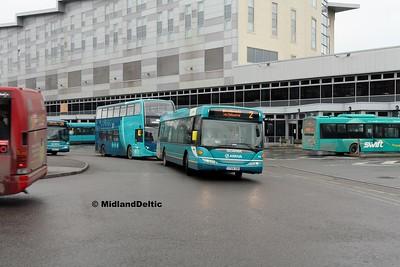 Arriva Midlands 3569, Derby Bus Station, 07-01-2017
