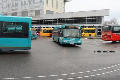 Arriva Midlands 3575, Derby Bus Station, 07-01-2017
