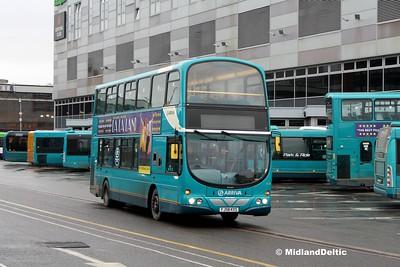 Arriva Midlands 4218, Derby Bus Station, 07-01-2017