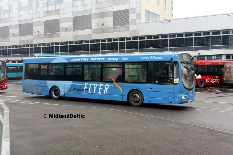 TrentBarton 633, Derby Bus Station, 07-01-2017