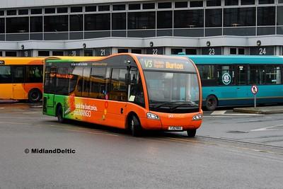 TrentBarton 500, Derby Bus Station, 07-01-2017