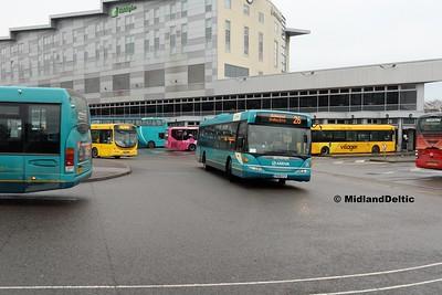 Arriva Midlands 3566, Derby Bus Station, 07-01-2017