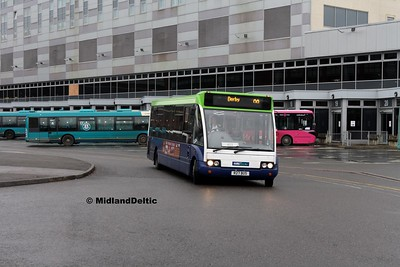 Notts & Derby 453, Derby Bus Station, 07-01-2017