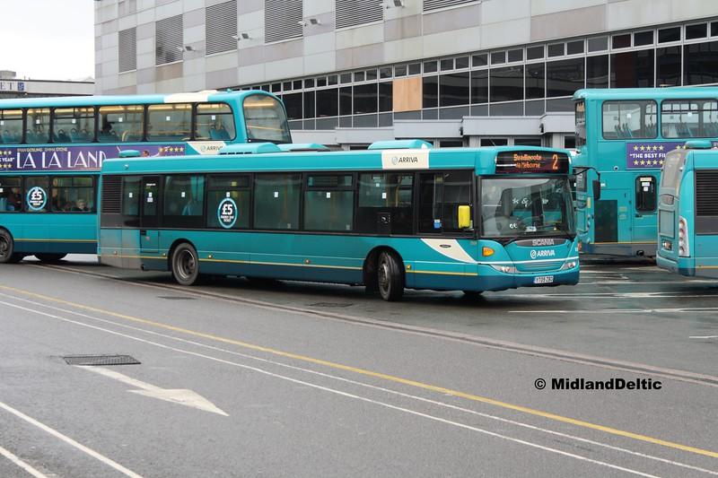 Arriva Midlands 3569. Derby Bus Station, 07-01-2017