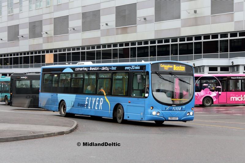TrentBarton 599, Derby Bus Station, 07-01-2017