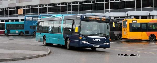 Arriva Midlands 3557, Derby Bus Station, 07-01-2017