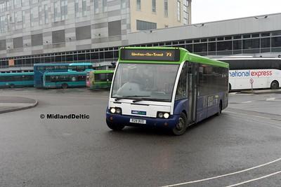 Notts & Derby 454, Derby Bus Station, 07-01-2017