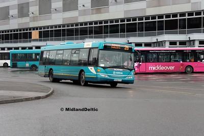 Arriva Midlands 3566, Derby Bus Station, 07-01-2016