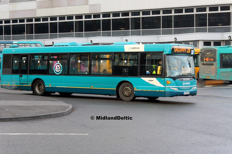 Arriva Midlands 3573, Derby Bus Station, 07-01-2017