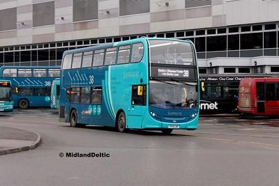 Arriva Midlands 4403, Derby Bus Station, 07-01-2017