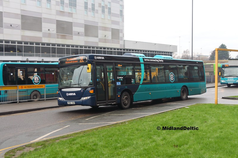 Arriva Midlands 3559. Derby Bus Station, 07-01-2017