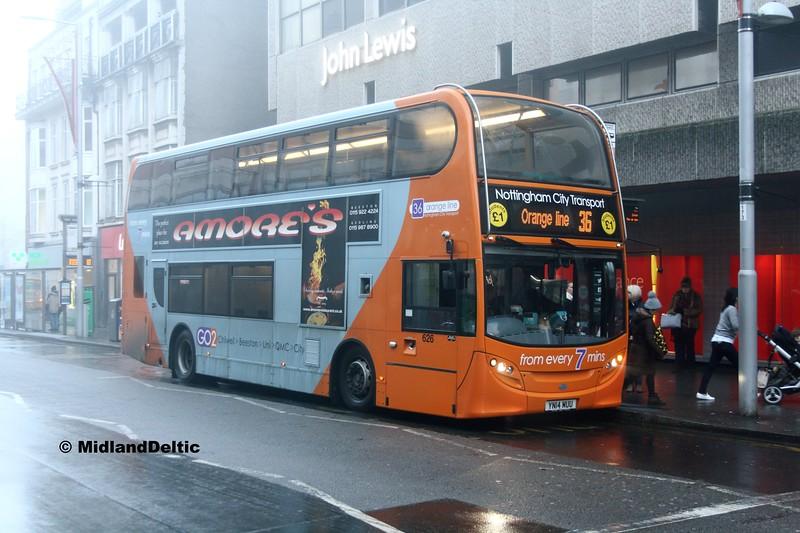 NCT 626, Milton St Nottingham, 07-01-2017