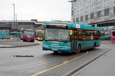 Arriva Midlands 3567, Derby Bus Station, 07-01-2017