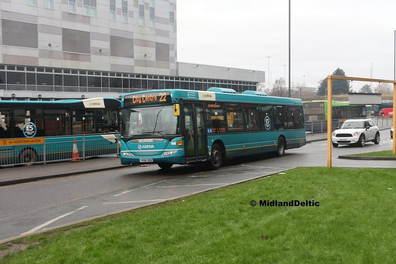 Arriva Midlands 3560, Derby Bus Station, 07-01-2017