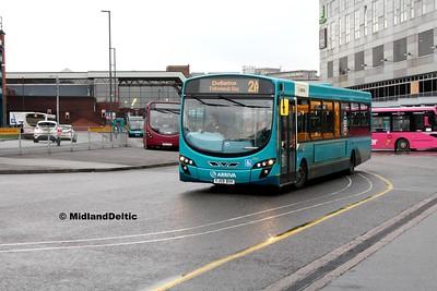 Arriva Midlands 3747, Derby Bus Station, 07-01-2017