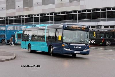 Arriva Midlands 3552, Derby Bus Station, 07-01-2017