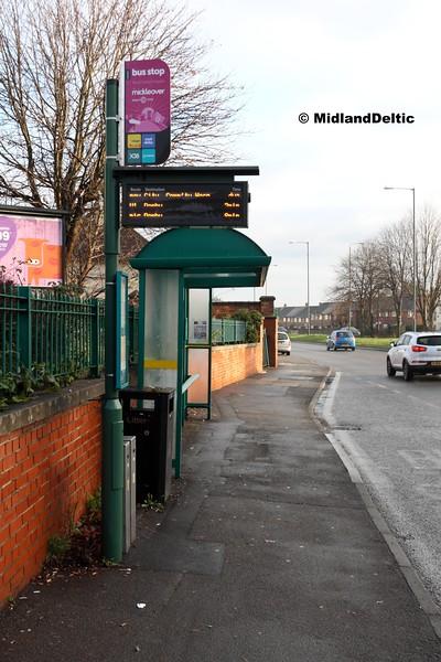 Royal Hospital Bus Stop (Inbound) Derby, 07-01-2017