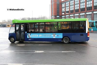 Notts & Derby 442, Derby Bus Station, 07-01-2017