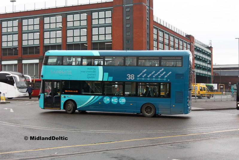 Arriva Midlands 4600, Derby Bus Station, 07-01-2017