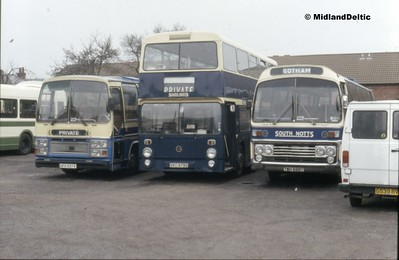 South Notts Bus Co - The Last Day